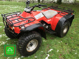HONDA TRX300 4X2 BIG RED ROAD REG ALL WORKS HPI CLEAR SEE VIDEO CAN DELIVER