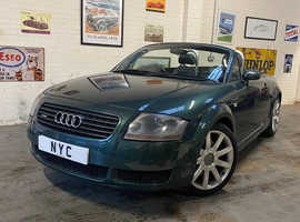 2002 AUDI TT 225 ROADSTER - SUPERB MECHANICAL CONDITION - BEST AVAILABLE