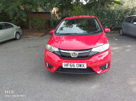 Honda Jazz, 2016 (66) red hatchback, Manual Petrol, 37,980 miles