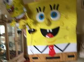 Spongebob Squarepant Mascot for Childrens party entertainment