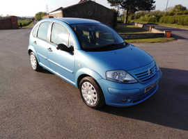 Citroen C3, 2002 (52) Blue Hatchback, Manual Petrol, 48,000 miles