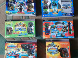 PS3 & PS4 SKYLANDER STARTER PACKS AND BOOSTER PACKS