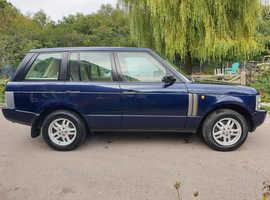 Land Rover Range Rover, 2002 (02) Blue Estate, Automatic Diesel, 140,000 miles