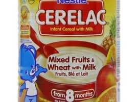 Nestle Cerelac Mixed Fruits & Wheat with Milk 400g