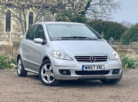 Mercedes A-CLASS, 2007 (57) Silver Hatchback, Manual Petrol, 110,490 miles