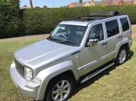Jeep Cherokee, 2009 (09), Automatic Diesel, 58,000 miles