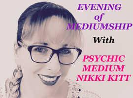 Evening of Mediumship with Nikki Kitt - Barry