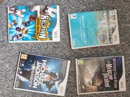 4 WII Games
