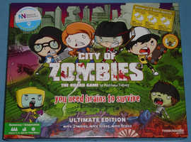 Ultimate Edition 'City Of Zombies' Board Game (as new)