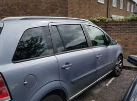 Vauxhall Zafira, 2006 (06) Silver MPV, Manual Petrol, 99,000 miles