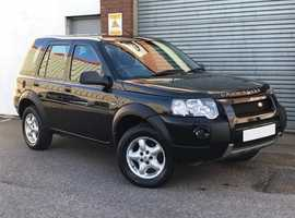 Land Rover Freelander 2.0 TD4 Adventurer, Diesel, 5 Door in Metallic Black, in Lovely Condition