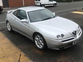 Alfa Romeo Gtv, 2000 (W) silver coupe, Manual Petrol, 101000 miles