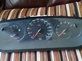 Citroen C5 speedometer