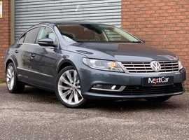 Volkswagen Cc, 2013 (13) grey coupe, Manual Diesel, 81,232 miles