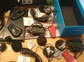 Cardo scala 1+ duo bluetooth headsets
