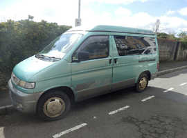 A very versatile and fully equipped van for everyday use as well as camping with 12 months MOT