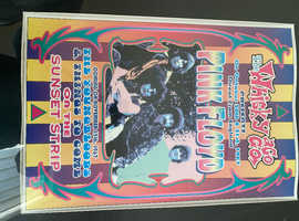 Pink Floyd poster previous tour