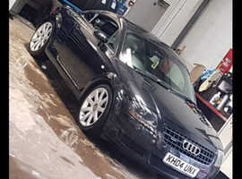 Audi TT, 2004 (04) Black Coupe, Manual Petrol, 135,000 miles