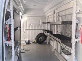 Shelves / Racking for van,