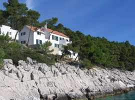 Croatia, waterfront property with exceptional view and location.
