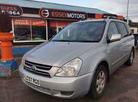 Kia Sedona, 2008 (57) Silver MPV, Manual Diesel, 60,000 miles