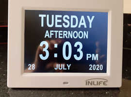 "InLife 8"" Digital Clock"