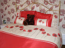 Double Bed hardly used, Very comfortable .
