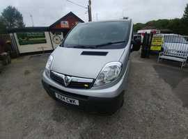 Automatic Vauxhall Vivaro SWB CDTi 2014 air con, unwritten, fsh,