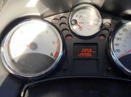 Peugeot 207, 2008 (08) Blue Convertible, Manual Diesel, 128,986 miles
