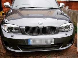 BMW 1 series, 2013 (13) Grey Coupe, Manual Diesel, 35,624 miles