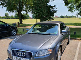 ****Audi A4, 2007 (56) Grey Convertible****Parrot Bluetooth****Lady owner****
