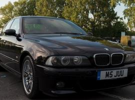 BMW M5 Series, 2001 (Y) Black Saloon, Manual Petrol, 131,000 miles