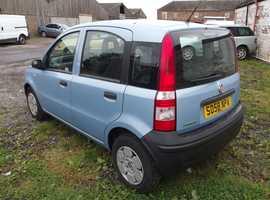Fiat Panda, 2008 (58) Blue Hatchback, Manual Petrol, 64,000 miles