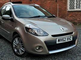 Renault Clio Estate 1.6 Petrol Auto 2012 Dynamique TomTom Sat Nav *1 Year Warranty* 83K