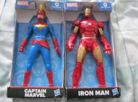 "9"" Marvel Figures"