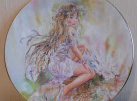 Christine Haworth crisalis collection The crystal keeper China plate
