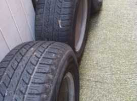 ford Ranger wrangler wheels and tyres