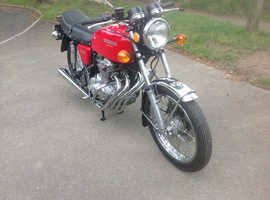 Honda 400/4 classic 1976. [Amazingly low mileage]