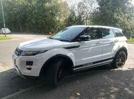 Land Rover Range Rover Evoque, 2013 (63) White Estate, Automatic Diesel, 40,000 miles
