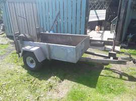 Cracking galvanised indespension gp ramp trailer 750kg