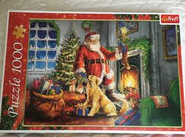 1 x 1000 piece Trefl puzzle £5