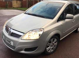 Vauxhall Zafira, 2011 (11) Silver MPV, Manual Petrol, 151,651 miles