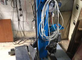 Portable Vehicle 240v hydraulic lift