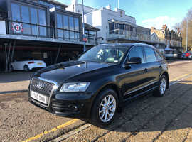 Audi Q5, 2009 (09) Black Estate, Manual Diesel, 131,000 miles