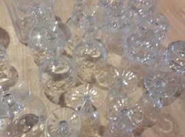 Royal brierley cut glass