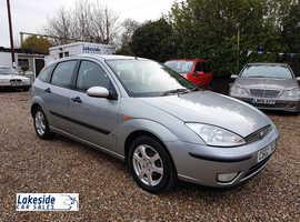Ford Focus, 2002 (02) Grey hatchback, Manual Petrol, 207722 miles
