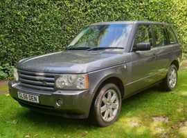 Land Rover Range Rover, Vogue 3.6 TDV8 2006 (56) Grey, Auto, Diesel, 115,892 miles