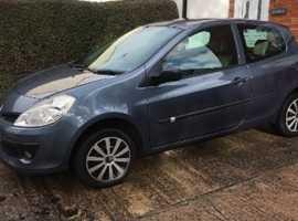 Renault Clio, 2006 (06) Blue Hatchback, Manual Diesel, 135,902 miles