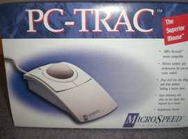 PC-Trac computer mouse - full sized trackball (New and boxed)