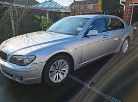 BMW 7 Series, 2006 (56) Silver Saloon, Automatic Diesel, 236,346 miles